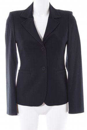 Sisley Kurz-Blazer dunkelblau Business-Look