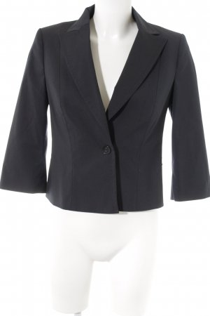 Sisley Kurz-Blazer dunkelblau Nadelstreifen Business-Look