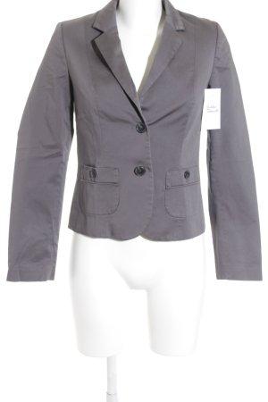 Sisley Kurz-Blazer grau klassischer Stil