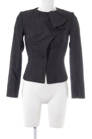 Sisley Kurz-Blazer schwarz-graubraun Business-Look