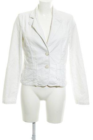 Sisley Short Blazer white casual look
