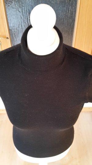 Sisley Kurzarm-Pullover mit Rollkragwn Gr. 36 (S)