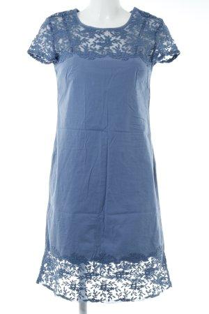 Sisley Kurzarmkleid kornblumenblau Casual-Look