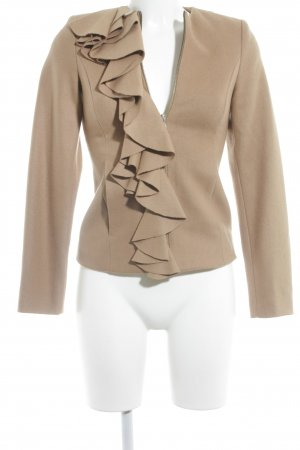 Sisley Kurzjacke beige Business-Look