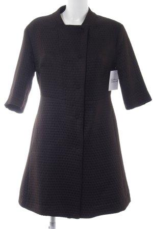 Sisley Kurzmantel schwarz Elegant