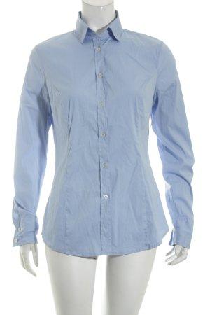 Sisley Langarmhemd himmelblau Casual-Look