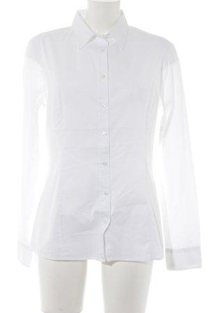 Sisley Langarmhemd weiß Elegant