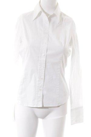 Sisley Langarmhemd wollweiß
