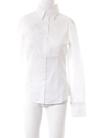 Sisley Langarmhemd wollweiß Elegant