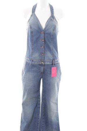 Sisley Latzhose blau Casual-Look