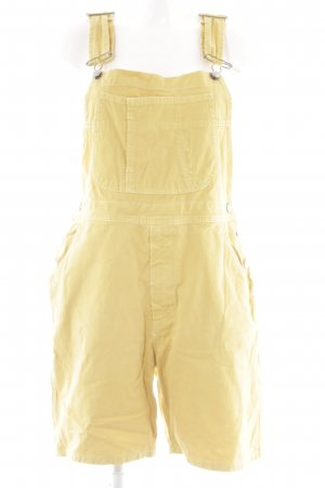 Sisley Dungarees dark yellow vintage products