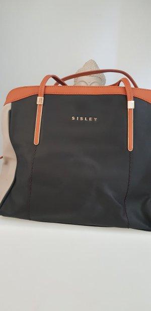 Sisley Schoudertas veelkleurig Leer