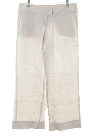 Sisley Linnen broek beige casual uitstraling
