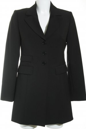 Sisley Long-Blazer schwarz Business-Look