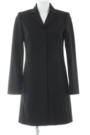Sisley Long-Blazer schwarz Casual-Look