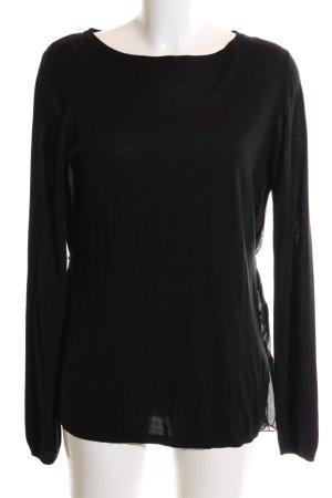 Sisley Jersey largo negro look casual