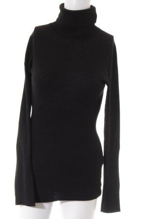 Sisley Longshirt schwarz Casual-Look