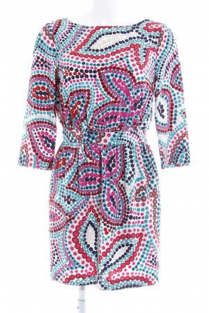 Sisley Midi Dress spot pattern casual look