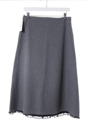 Sisley Midirock grau-schwarz schlichter Stil