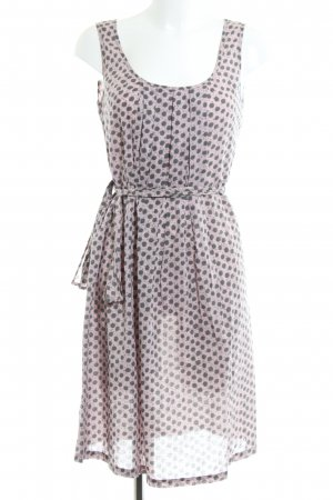 Sisley Minikleid pink-khaki Allover-Druck Casual-Look
