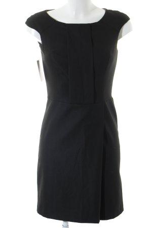 Sisley Mini vestido negro elegante