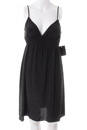 Sisley Minikleid schwarz Romantik-Look