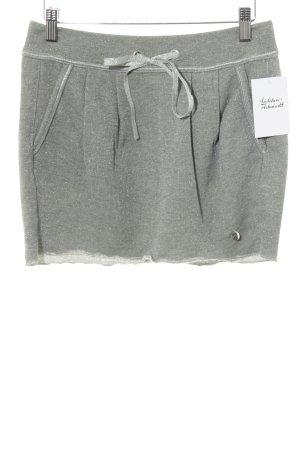 Sisley Mini rok grijs glitter-achtig