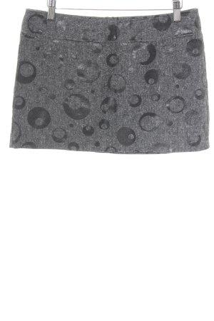 Sisley Minirock Punktemuster Casual-Look