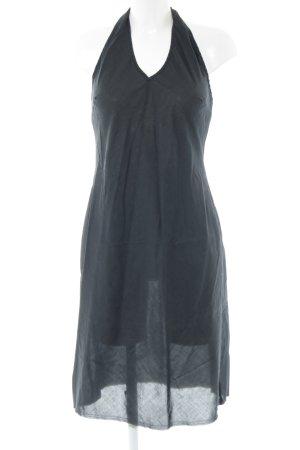 Sisley Halter Dress blue elegant