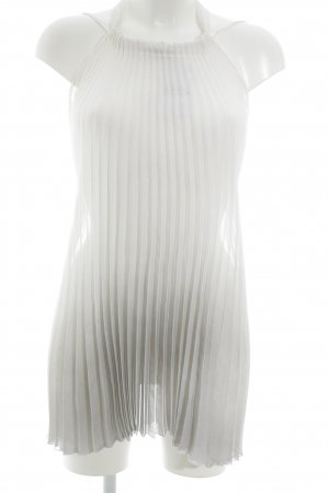 Sisley Neckholdertop wollweiß-grau Farbverlauf Elegant