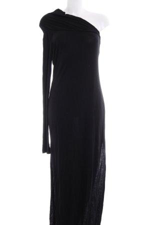 Sisley One-Shoulder-Kleid schwarz schlichter Stil