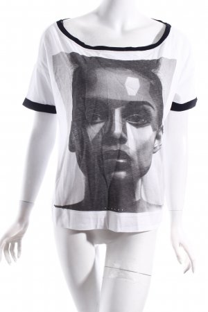 Sisley Print-Shirt Motivdruck Street-Fashion-Look