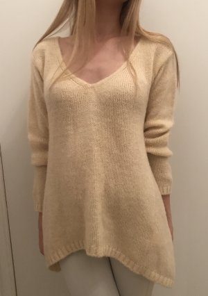 Sisley Pullover neu Sweater Mohair Wolle M