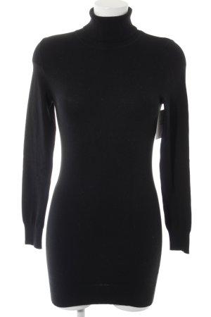 Sisley Pulloverkleid schwarz Casual-Look