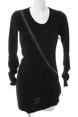 Sisley Sweater Dress black casual look