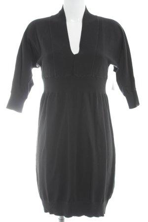 Sisley Sweater Dress black casual look