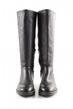 Sisley Botas de equitación negro look casual