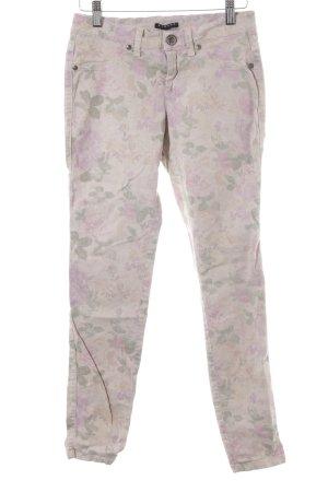Sisley Regenpijpbroek bloemenprint casual uitstraling