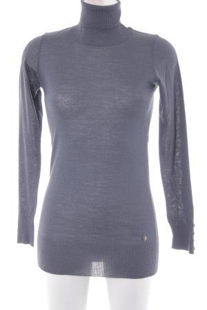 Sisley Rollkragenpullover graublau Casual-Look
