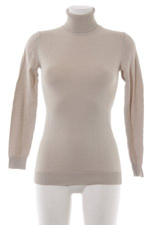 Sisley Rollkragenpullover mehrfarbig minimalistischer Stil