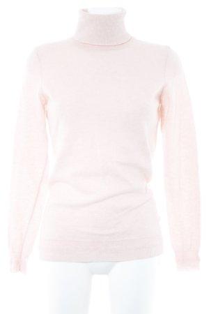 Sisley Jersey de cuello alto rosa look casual