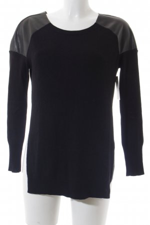 Sisley Crewneck Sweater black casual look