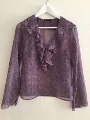 Sisley Blouse à manches longues gris violet
