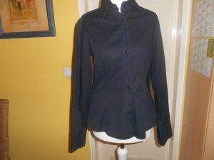 Sisley- schwarze Bluse Gr. 36