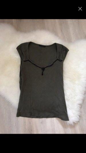 Sisley T-shirt khaki