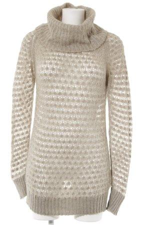Sisley Shirtkleid beige-hellbraun Webmuster Casual-Look