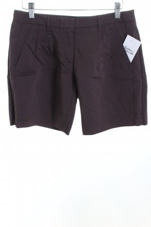 Sisley Shorts dunkelbraun Casual-Look
