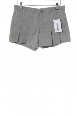 Sisley Shorts grau-hellgrau Business-Look