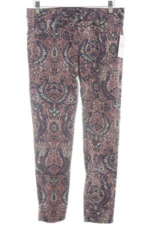 Sisley Slim Jeans abstraktes Muster Casual-Look