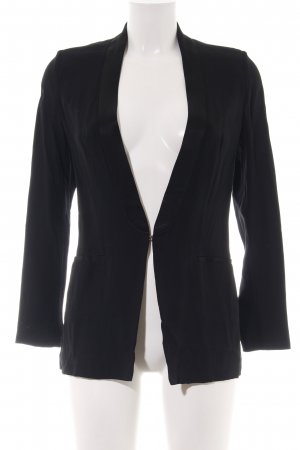 Sisley Blazer de esmoquin negro estilo «business»